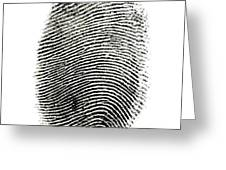 Fingerprint Greeting Card