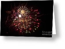 Fourth Of July Fireworks Greeting Card