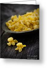 Fresh Pasta Greeting Card by Mythja  Photography