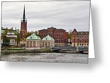 Gamla Stan. Stockholm 2014 Greeting Card