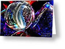 Glass Abstract 99  Greeting Card
