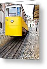 Gloria Funicular Greeting Card