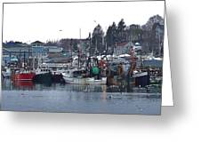 Gloucester Fishing Boats Greeting Card