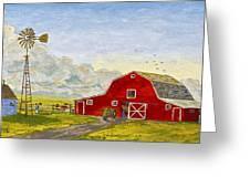 Grandpa's Farm Greeting Card