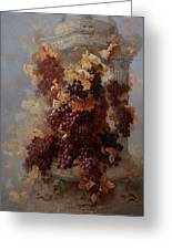 Grapes And Architecture Greeting Card