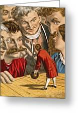 Gullivers Travels Greeting Card