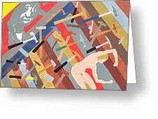 Hammered Greeting Card