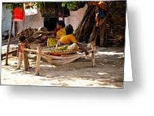 Hampi Bazaar Greeting Card