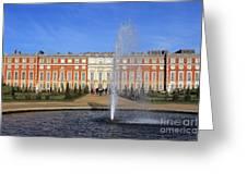 Hampton Court Palace England Greeting Card
