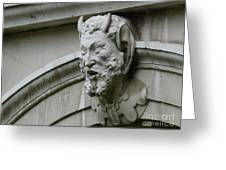 Hampton Court Palace Gargoyle Greeting Card