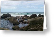 Hanakapi Ai Beach Greeting Card