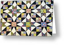 Hand Made Quilt Greeting Card