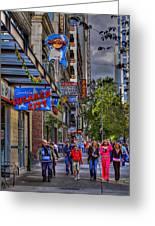 Hard Rock Cafe - Seattle Greeting Card