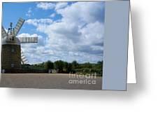 Heage Windmill Greeting Card
