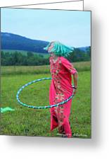 Hooping Rw2k14 Greeting Card