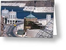 Hoover Dam Greeting Card