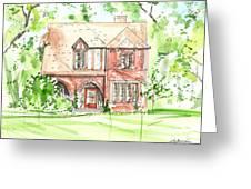 House Rendering Sample Greeting Card