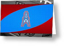 Houston Oilers Greeting Card