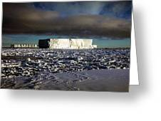 Iceberg In The Ross Sea Antarctica Greeting Card