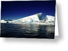 Icebergs-jokulsarlon Glacial Lagoon Greeting Card