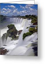 Iguassu Falls Greeting Card