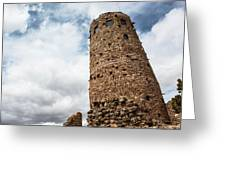 Indian Watchtower Grand Canyon Greeting Card