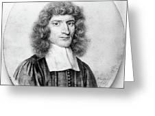 Isaac Barrow (1630-1677) Greeting Card