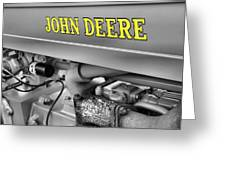 John Deere Greeting Card by Dan Sproul