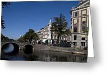 Keizersgracht Amsterdam Greeting Card