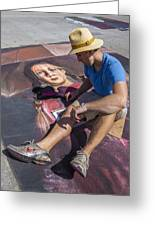 Lake Worth Street Painting Festival Greeting Card
