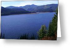 Lakes 4 Greeting Card