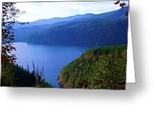 Lakes 6 Greeting Card