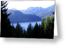 Lakes 8 Greeting Card