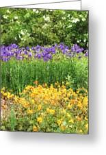 3-layered Garden Greeting Card