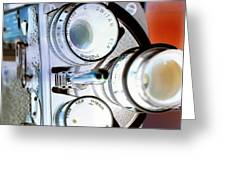 3 Lenses In Negative Greeting Card