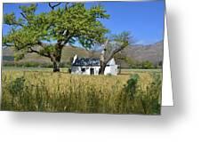 Little Farm House Greeting Card