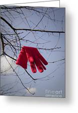 Lost Glove Greeting Card