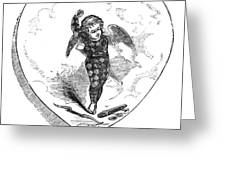 Love Lyrics And Valentine Verses, 1875 Greeting Card