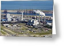 Maasvlakte, Europort, Rotterdam Greeting Card