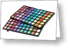 Makeup Color Palette Greeting Card