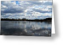 Mansfield Hollow Lake Greeting Card