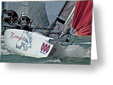 Melges Regatta Greeting Card