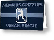 Memphis Grizzlies Greeting Card