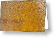 Metal Plate Greeting Card