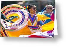 Mexican Folk Dancers Greeting Card