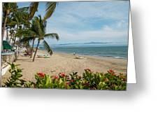 Mexico, Bahia De Banderas, Bucerias Greeting Card