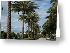 Miami Beach Greeting Card
