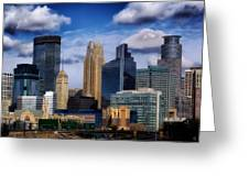 Minneapolis Skyline Greeting Card