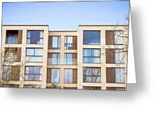 Modern Apartments Greeting Card