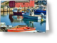 Motif Number One Rockport Lobster Shack Maritime Greeting Card